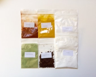 Eco friendly ink/paint making set
