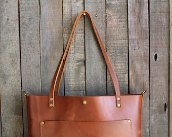 Leather tote bag  fc804befc9683