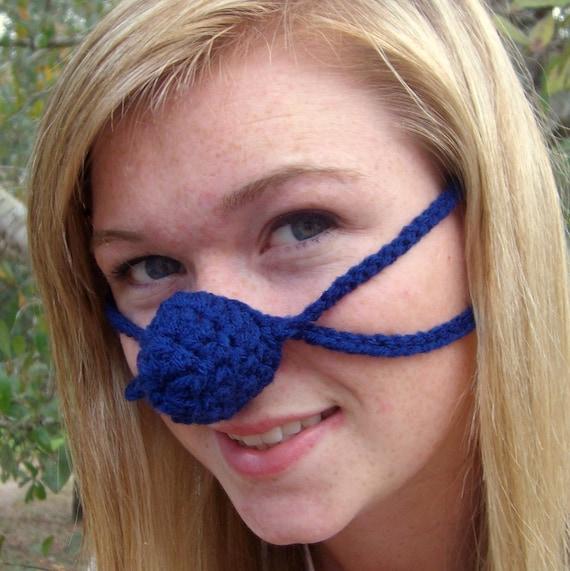 True Blue Nose Warmer Nose Cozy Tween Teen Adult Unisex Etsy