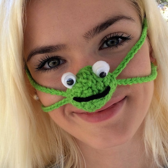 Nose Warmer Happy Frog Unisex Outdoor Fun Sports Games Etsy