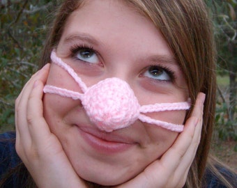 NOSE WARMER Pinkey Nose   Sleep with Warm Nose  Vegan Friendly best gift for her  Grandmother  Unique  Useful Fun  Gift under 10   Vegan