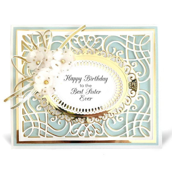 Birthday Card Personalized Handmade For Her Gift