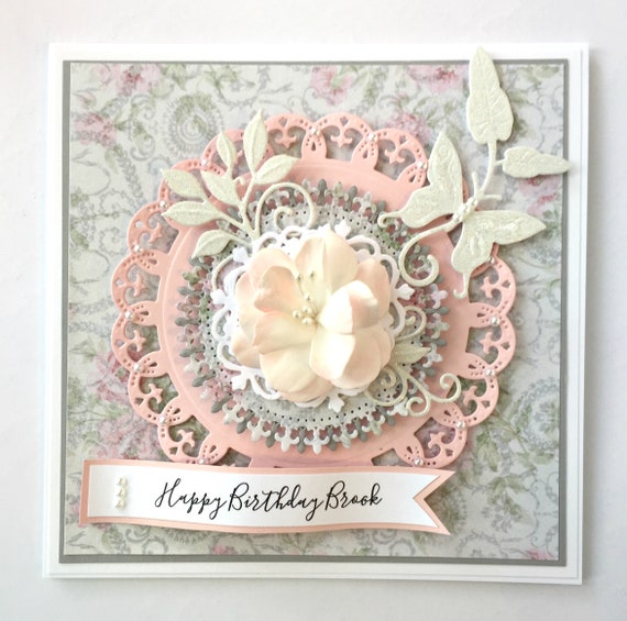 Birthday Card For Her Personalized Gift Anniversary Handmade