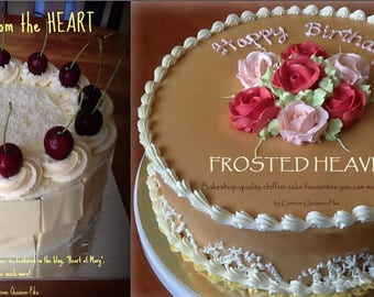 Frosted Heaven and Cakes from the Heart - 2 eBooks/PDFs
