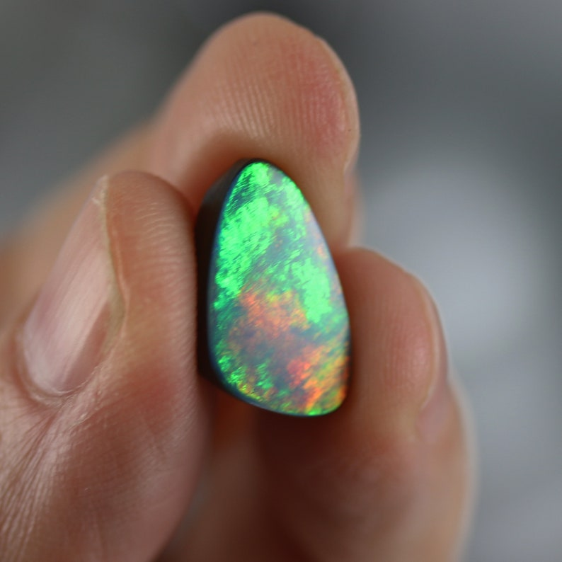 Lots of Fire Opal Doublet Cabachon Opal Cabachon 16 x 9mm