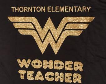 Wonder Teacher Tshirt