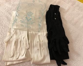 2 pair vintage opera gloves 169758309c29b
