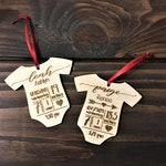 Personalized Baby's First Christmas Ornament DEADLINE December 16 for Christmas Delivery