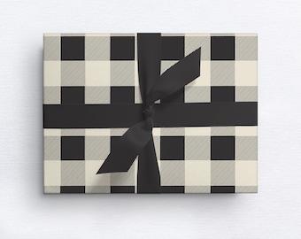 Buffalo Plaid Gift Wrap | Christmas | Holiday | Everyday
