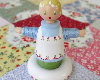 A Little Bit of a Doll Named Lucy - from PATCHWORK TALES - Number 34