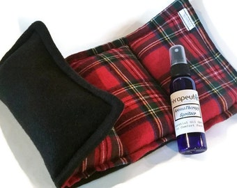 Heating Pad for Microwave, Heat Pack, Hot Pack, Cold Pack, Rice Pack Reusable Soft flannel fleece
