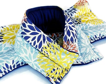 LARGE Heating Pad Gift Set, Lumbar Heat Pack Neck Wrap, microwave rice bag flax seed pillow, Ankylosing spondylitis gift
