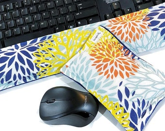 Wrist Rest Heat Pack Keyboard Mouse, Ergonomic Wrist Support, Office Decor, Desk Accessories,  Hot Cold Therapy Pack Mouse Pad for Wrist