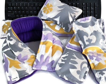 Pretty Fabric Office Gift Set for Desk Surfing Employees