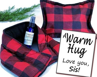 Gift for Sister, Christmas Holiday Care Package for Sister, Personalized Sister Christmas Present