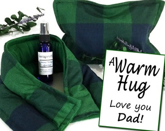 Fathers Day Gift Set, Special Gift for Dad Birthday, Relaxation Kit for Dad, Stress Anxiety Relief for Him, A Warm Hug Gift