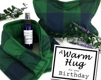 Birthday Gift for Him or Her, A Warm Hug Birthday Care Package, Birthday Card and Gift for Dad, Man, Best Friend