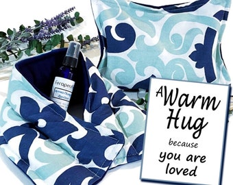 You are Loved Gift Set for Her or Him, Relaxation Stress Relief Wrap, Sending Love Hugs, Useful Different Unique Gift that will Last