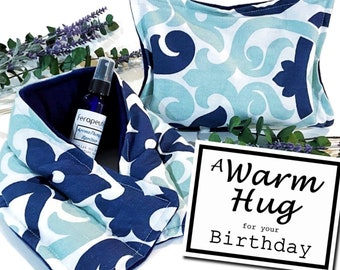 Birthday Gift Set, A Warm Hug for Best Friend, Mom, Woman, Birthday Care Package, Relaxation Spa Kit