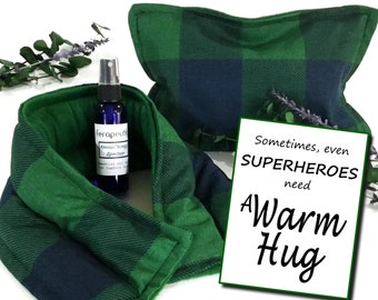 Birthday Gift for Dad, Gift Bag for Him, A Warm Hug, Superhero Dad Care Package, Relaxing Gift for Men Him Hero Grandfather