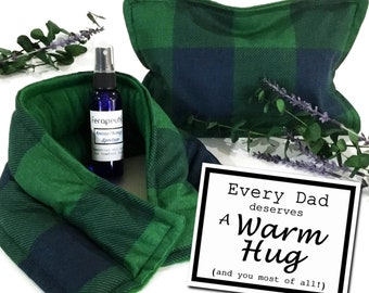 Father Gift Box Set, Special Gift for Dad Birthday, Relaxation Kit for Dad, Stress Anxiety Relief for Him, Warm Hug Gift