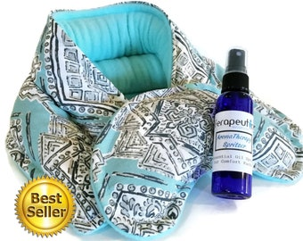 Aromatherapy Heat Pack, Lavender Heating Pad, Get Well Gift   Cheer up gift   Thank You Gift   Thinking of you Gift   Send a Care Package