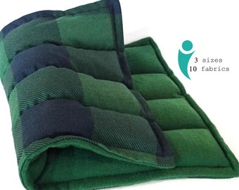 Large Microwave Heat Pack, Four Chambered Coverage for Comfort and Pain Relief
