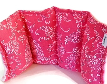 Pink Therapy Pack for Hot or Cold Use, Optional Sizes and Fabrics.