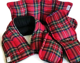 Heating Pads, MICROWAVE Fleece Flannel Heat Packs Unscented or Herbal Aromatherapy