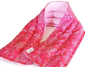 Microwavable Scarf Style Heating Pad for Chronic Neck Pain, Cervical Spine