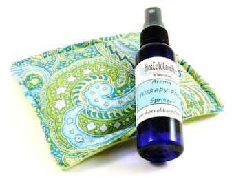 Little Sleep Pillow, Dream Pillow, Chamomile Lavender Sachet with Sleep Pillow Sray, Herbal Aromatherapy for Relaxation Natural Linen Spray