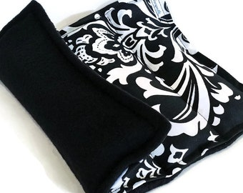Hot Cold Therapy Pack 8 X 12, rice pack with flax, microwave heating pad, Microwave Pad Microwave Pack