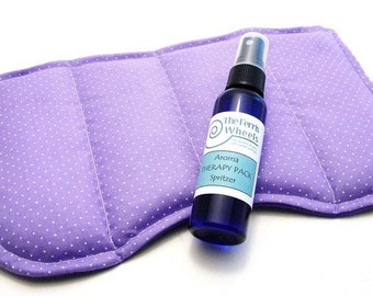 Large Relaxation Face Pillow, Puffy Eyes Dark Circles Sinus Congestion, Lavender Peppermint Herbal Mask