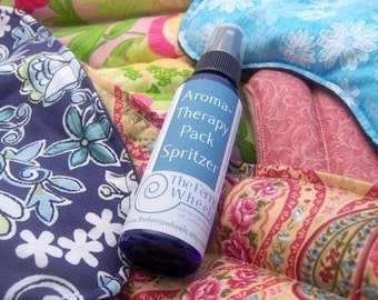Spritzer for microwave heat pack, aromaTHERAPY Pack Spray