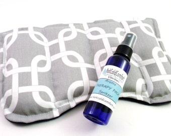 X Large Eye Pillow, Sinus Relief Heat Pack, Hot Cold Pad, Lavender Eye Pillow, Sinus Pad, Aromatherapy Pack, Herbal Eye Pillow