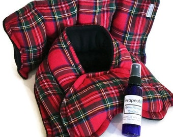 Christmas Stress Relief Holiday Heating Pads, Microwavable Hot Cold Packs for Gifts