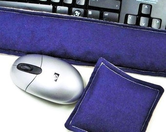 Ergonomic Keyboard Mouse Wrist Support, Office Kit for Men, Boss Gift Set