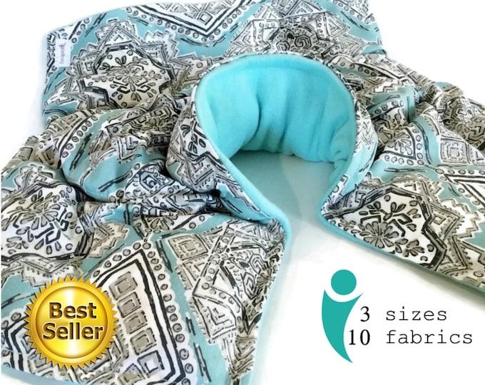 Featured listing image: Heat Neck Shoulder Spine Wrap, Microwave Neck Shoulder Pillow, Holistic Hot Pack for AS Ankylosing Spondylitis Relief Gift