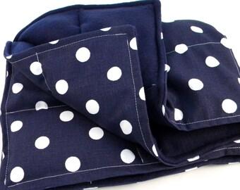 XL Microwave Blanket, Bed Rice Warmer, Large Heating Pad, Heat Pack Body Wrap, Heated Throw, Get Well Gift, Fibromyalgia, Spoonie,