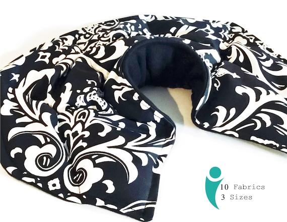 Microwave Neck Warmer Neck Shoulder Heating Pad Rice Bag Etsy Gorgeous Neck And Shoulder Rice Bag Pattern