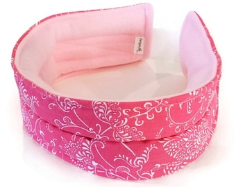 Pretty Head Band for Migraines and Tension Headaches, TMJ TMD Chronic Pain, Cold or Heat Pack