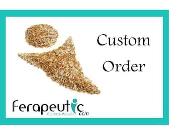 Custom Order / 5 black Thumb Wraps