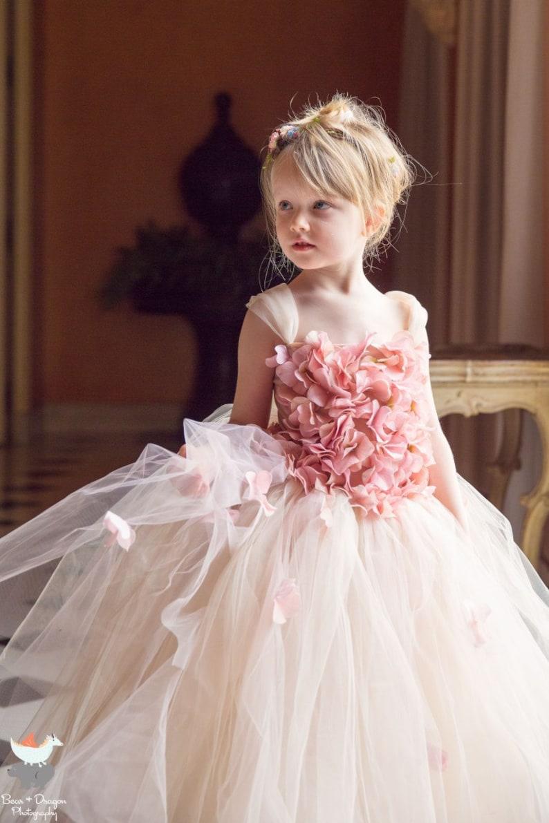 593aca064570 Tutu Flower Girl Dresses Pink - raveitsafe