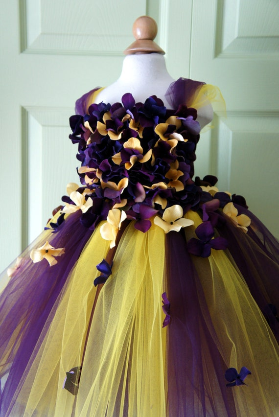 Yellow Flower Girl Tutu Dress-Yellow Tutu Dress-Yellow Dress-Yellow Tutu-Yellow Birthday Tutu-Yellow Bride Dress.