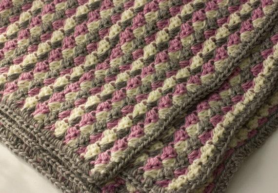 Werfen Sie Decke zu Häkeln Sie Runde Decke kleine Afghan | Etsy