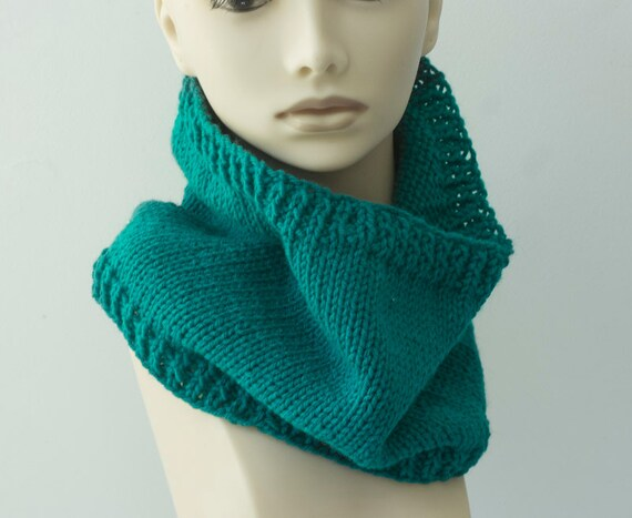 Brioche Rib Cowl Knitting Pattern Instant Download Pattern Etsy
