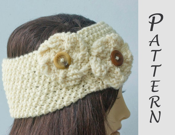 Easy Knitting Pattern Summer Knitting Pattern Flower Etsy