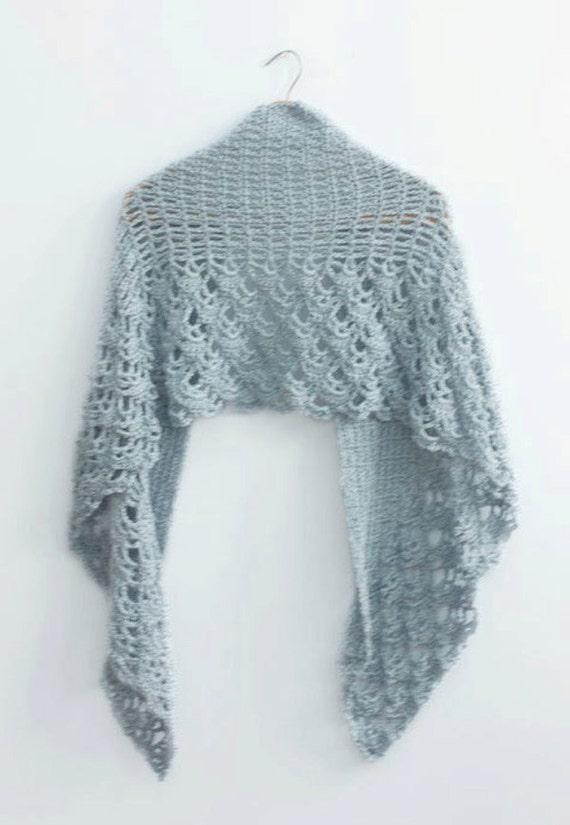Pdf Crochet Shawl Pattern Wedding Shawl Pattern Lace Shawl Etsy