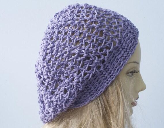 Baumwolle Hut Custom wählen Sie Farbe Slouchy Beanie häkeln | Etsy