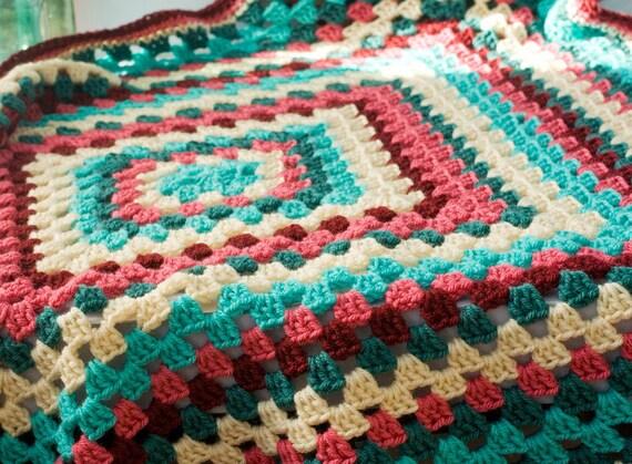 Häkeln Baby-Decke Oma Platz Afghan Baby-Dusche-Geschenk